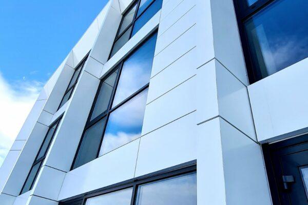 Presklená fasáda okná a dvere Zubné centrum Poprad 20
