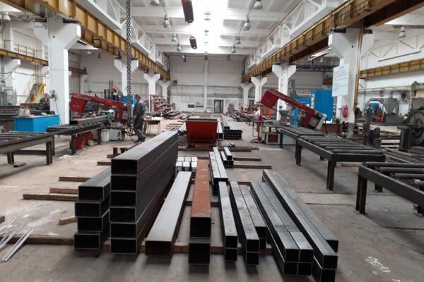 vyroba ocelovych konstukcii